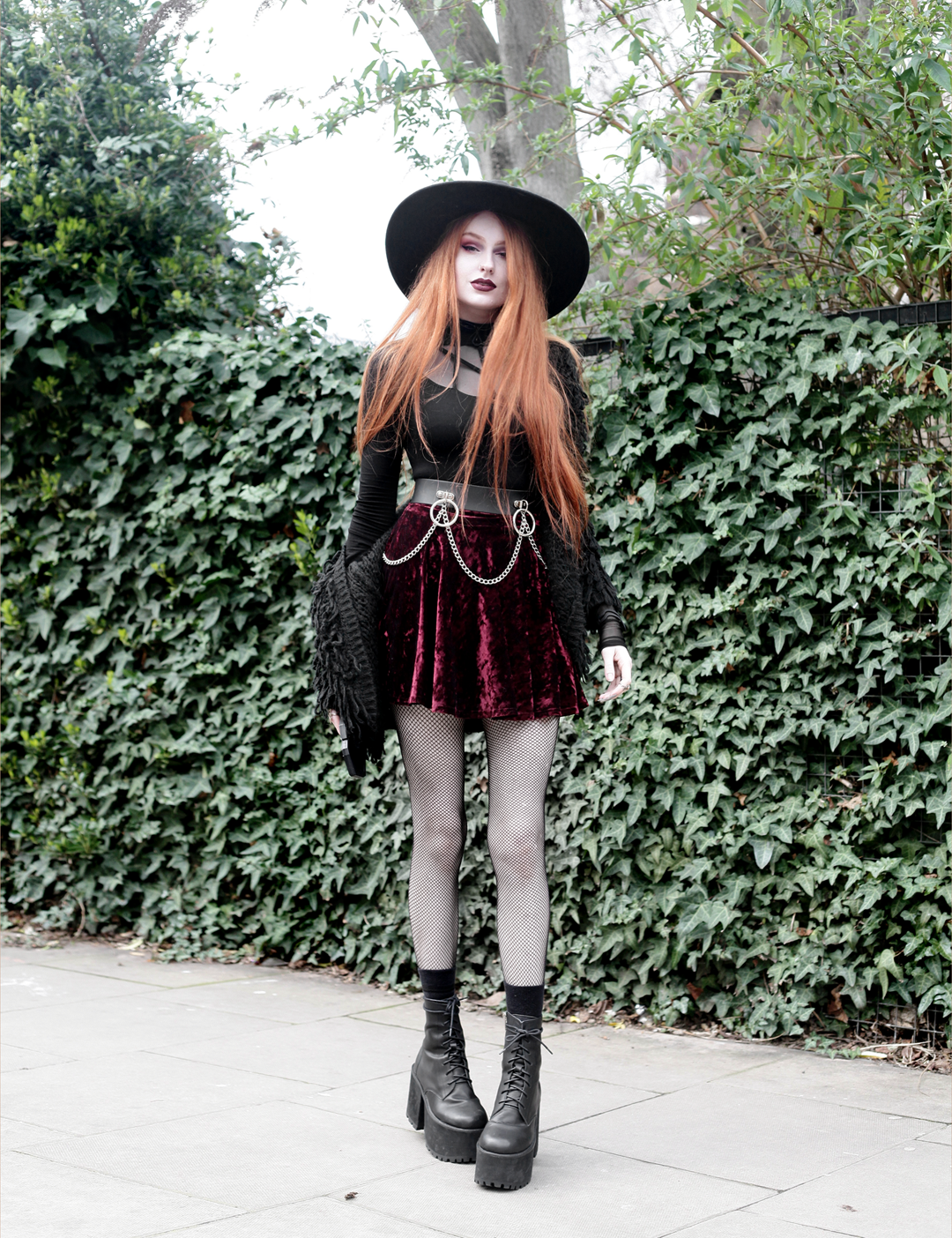 Olivia Emily KILLSTAR Fedora Hat  OCCULT  WITCHCRAFT  GOTHSTYLE  GOTHLIFE   KILLSTAR  WITCH  THECRAFT b9231192b28