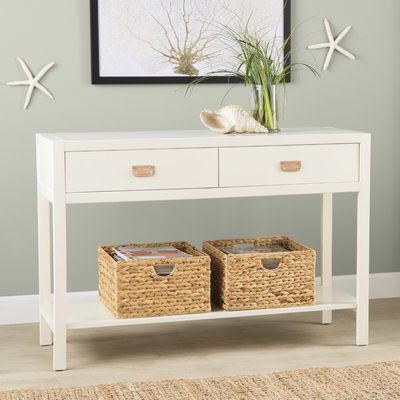 Beachcrest Home Antonina Console Table Console Table Skinny