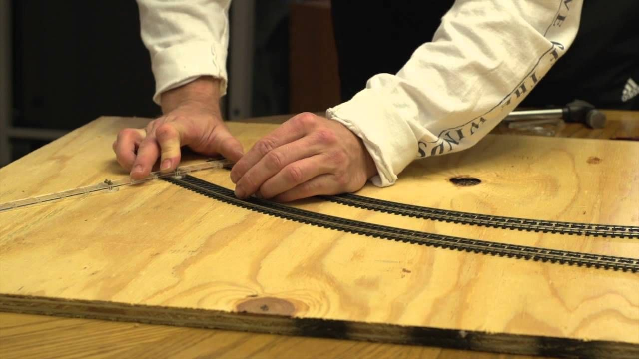 Building a Model Railroad Series. JMD Plastics Track Laying Tools and Hobby  Products