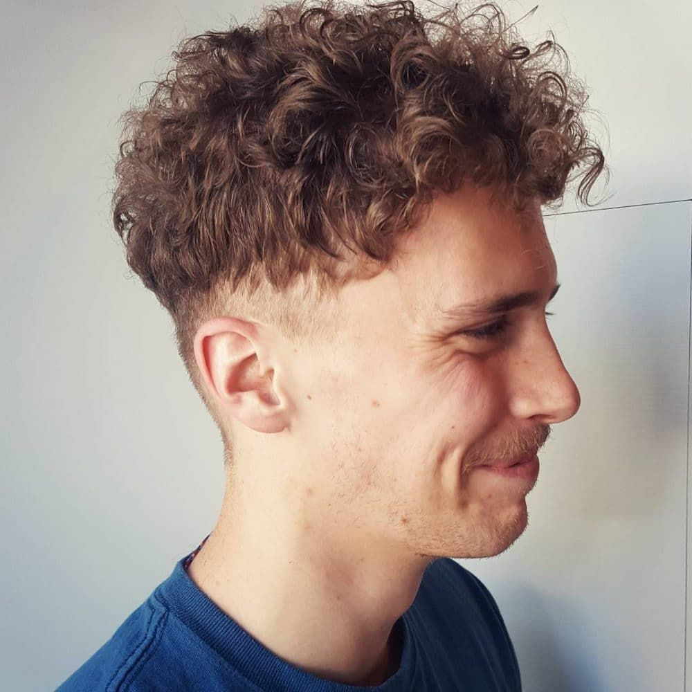 Hairstyle For Curly Dry Hair Male Hairstyles For Curly Hair