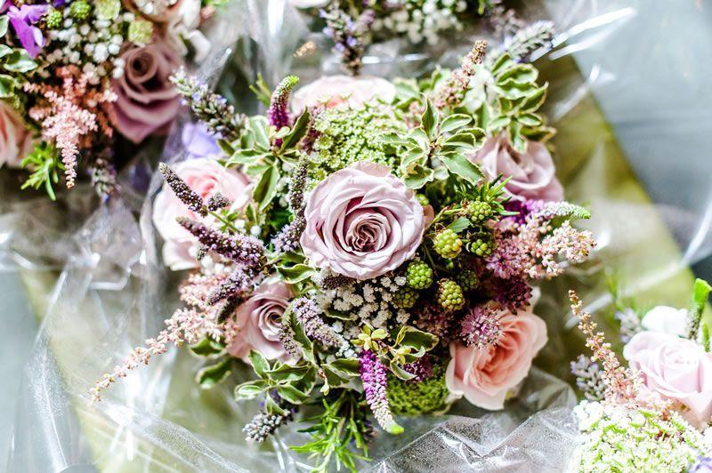 A Pretty Country Wedding With An English Garden Party Theme