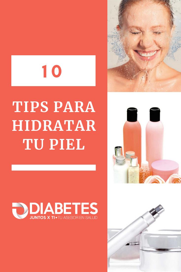 diabetes cuidado de la piel seca