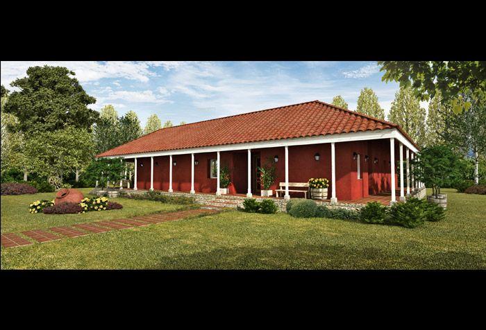 Casas de campo chilenas buscar con google casas de - Porches de casas ...