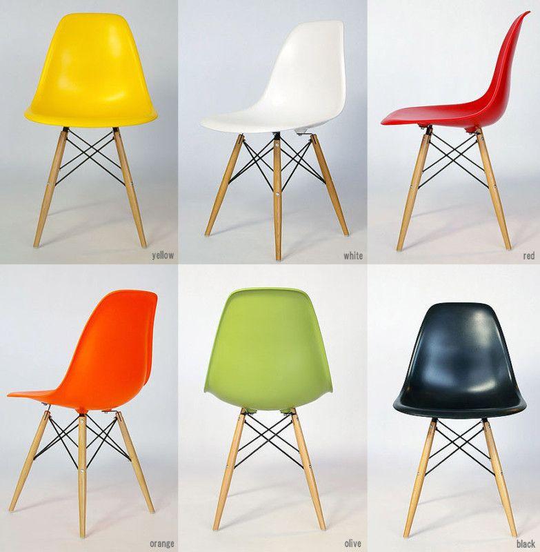 REPLICA EAMES DSW CHAIR - 5 COLOURS SEAT W/ SOLID WOOD LEGS | eBay  sc 1 st  Pinterest & REPLICA EAMES DSW CHAIR - 5 COLOURS SEAT W/ SOLID WOOD LEGS | eBay ...