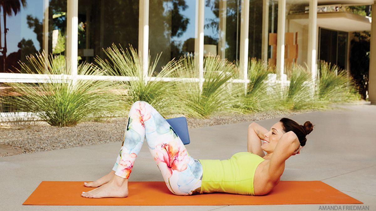 """Core Concept: Soften Your Middle for a Stronger Core. Think of the word """"core,"""" and terms like """"hard"""" and """"tight"""" likely come to mind. But the secret to a strong middle is actually to soften in your practice. This sequence shows you how."""