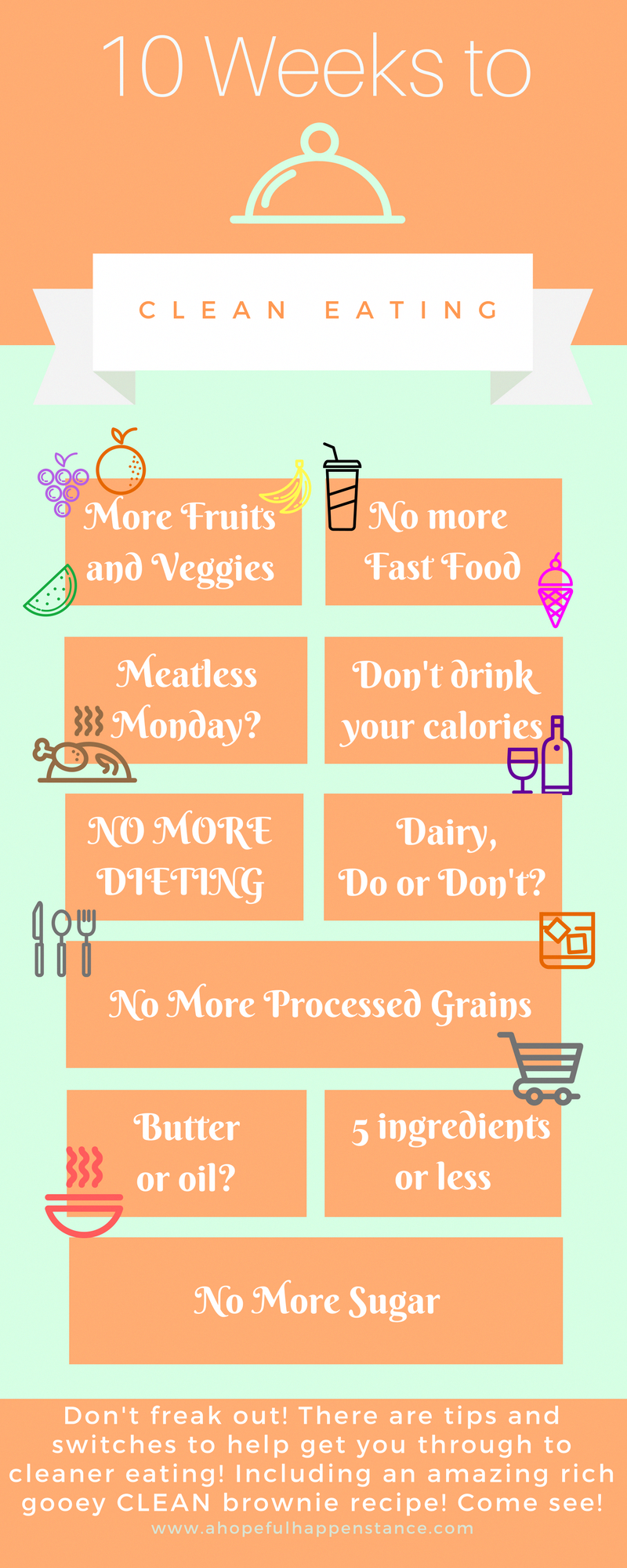 10 weeks to clean eating! New years resolutions / clean eating / diet / lifestyle / clean food / mom blog / christian / health / green work at home mom / how to manage staying home and living on one salary / infant / newborn / postpartum / new baby / mommy blog