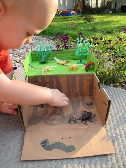 Craft Project Ideas For Kids Part - 38: Play Bug House From Shoebox. Shoebox IdeasKids CraftsCraft ProjectsProject  ...