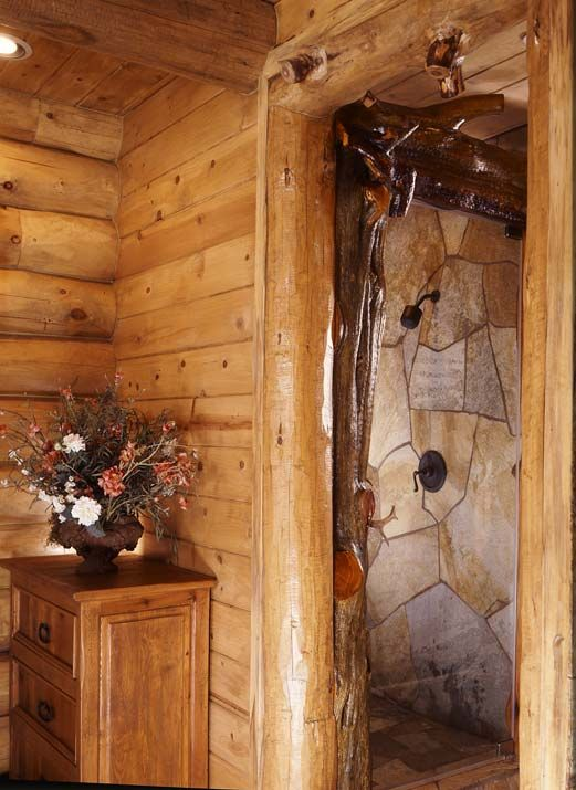 Rustic Showers flat rock for shower | bathroom ideas | pinterest | flat rock