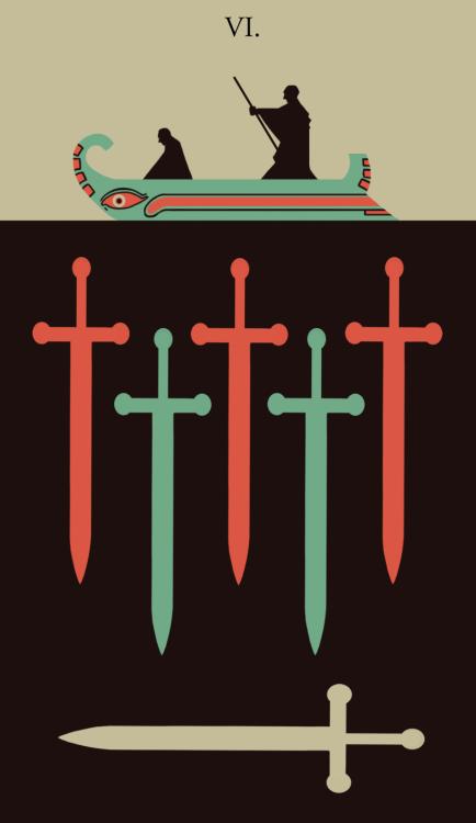 Six of Swords (VI.)