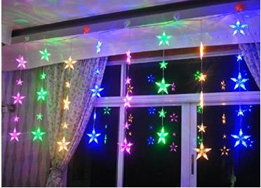 Cortina de luces amazon decoraci n navidad pinterest for Cortinas con luces