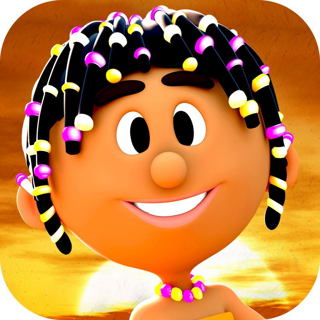 "The new icon of ""Zala and the Treasure Cave"". https://itunes.apple.com/us/app/zala-treasure-cave-animated/id682584983?mt=8&uo=4"
