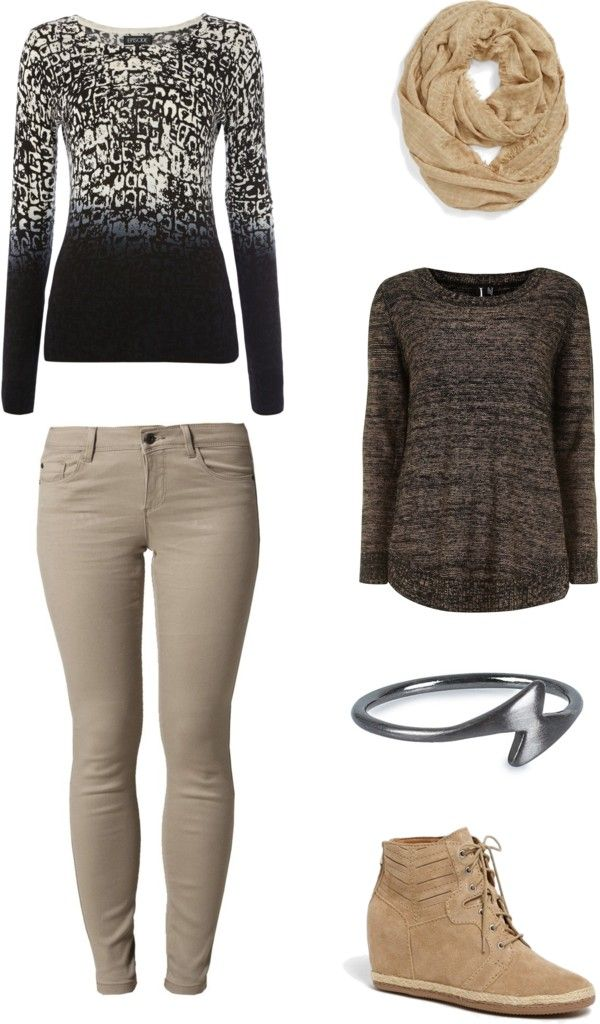 "[Requested by Anonymous] Outfit inspired by Vixx's Leo, performance of ""Only You"", 131126 More Outfit on I Dress Kpop Get The Look : Ombre Sweater Pants Scarf Other Sweater (alternative) Ring Shoes"