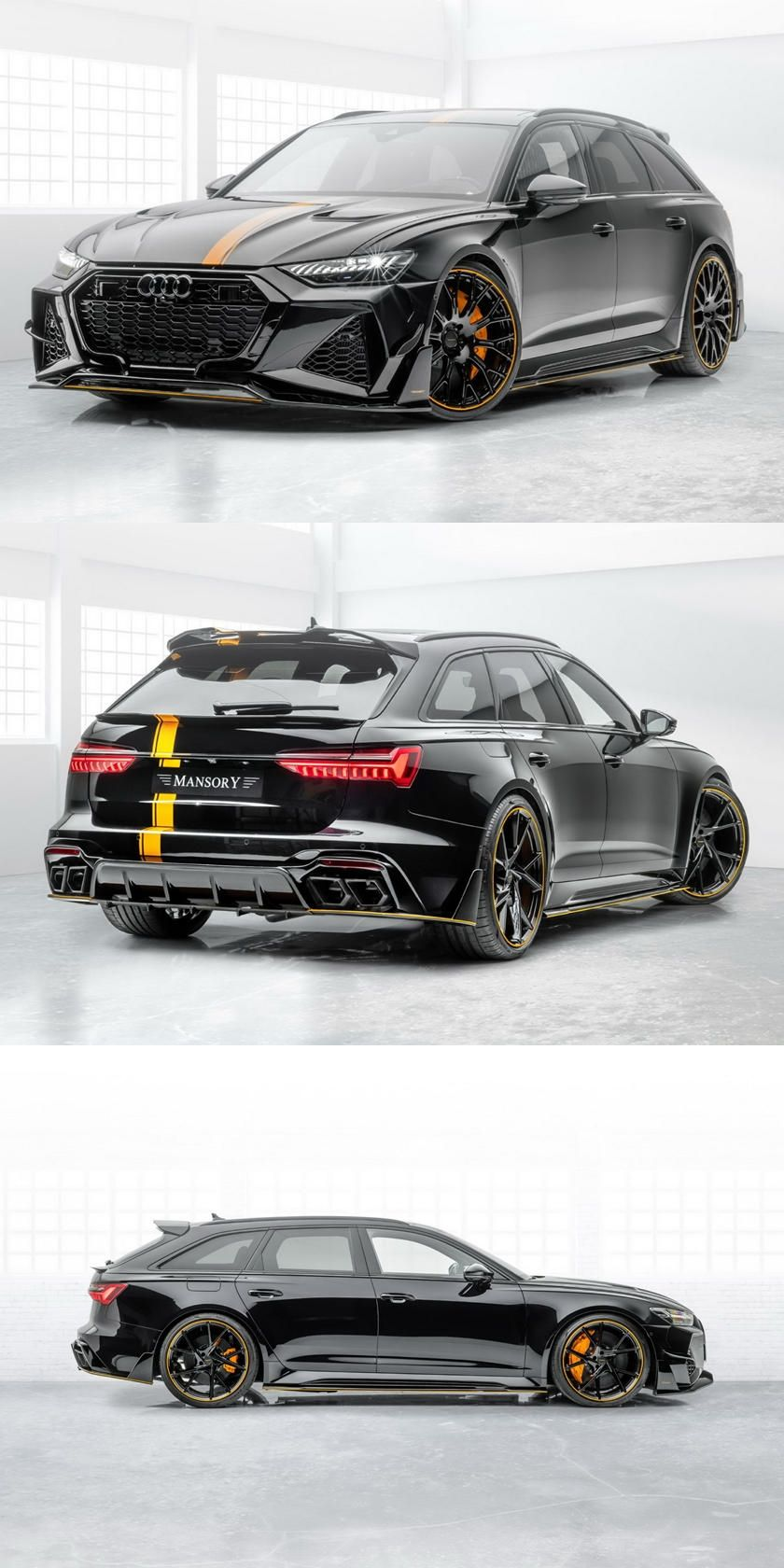 Mansory Transforms Audi Rs6 Avant Into 720 Hp Super Wagon 0 62 Mph In The Super Fast Station Wagon Now Takes Just 3 2 Seconds In 2020 Audi Rs6 Audi Cars Audi Wagon
