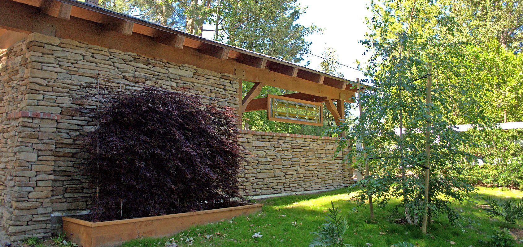 Espalier Japanese Maple Succulents Woodsy