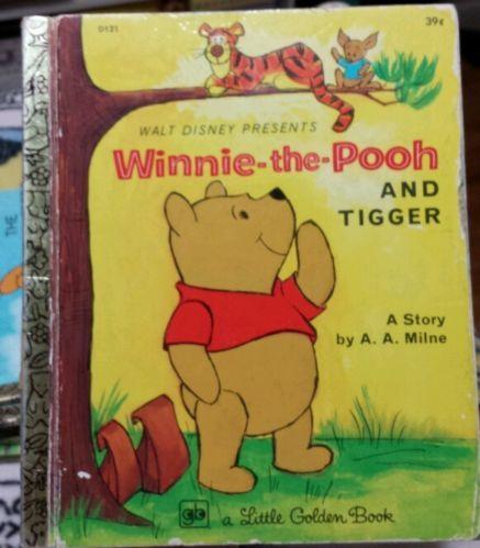 Winnie-the-Pooh & Tigger - A.A. Milne - A Little Golden Book (1968)