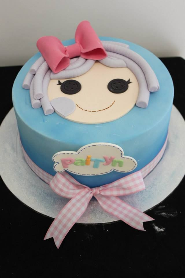 La La Loopsy Face Cake With Images Party Cakes Cake Recipies