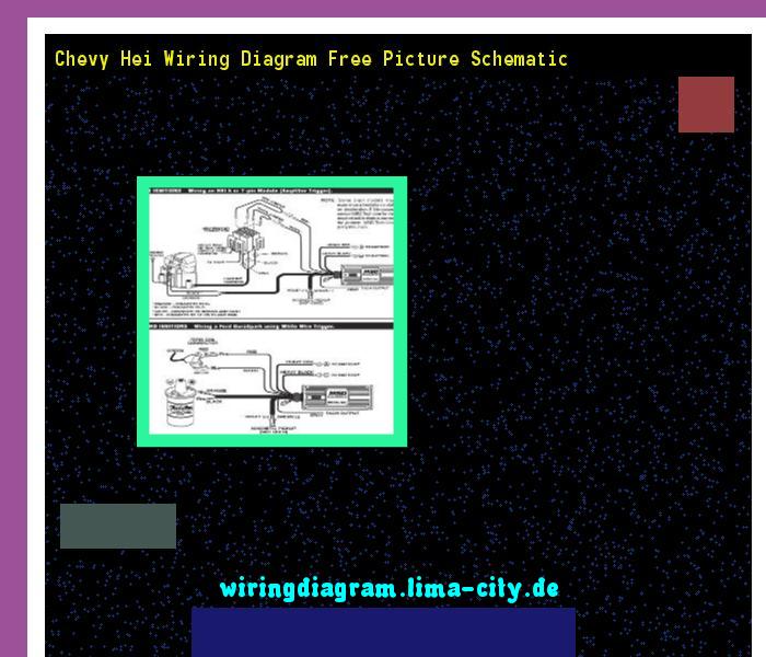 Chevy Hei Wiring Diagram Free Picture Schematic  Wiring Diagram 174852