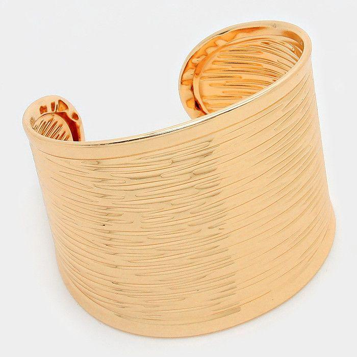 Endless Summer - Gold Cuff Bracelet