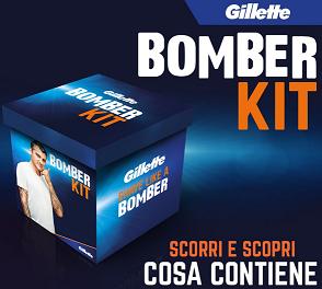 Concorso Gillette vinci Bomber Kit