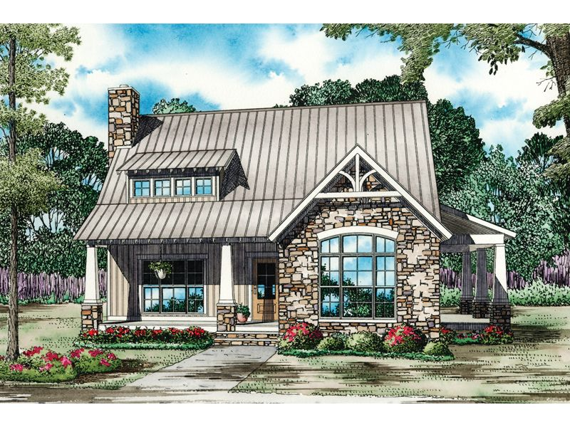Small english country cottages house plans