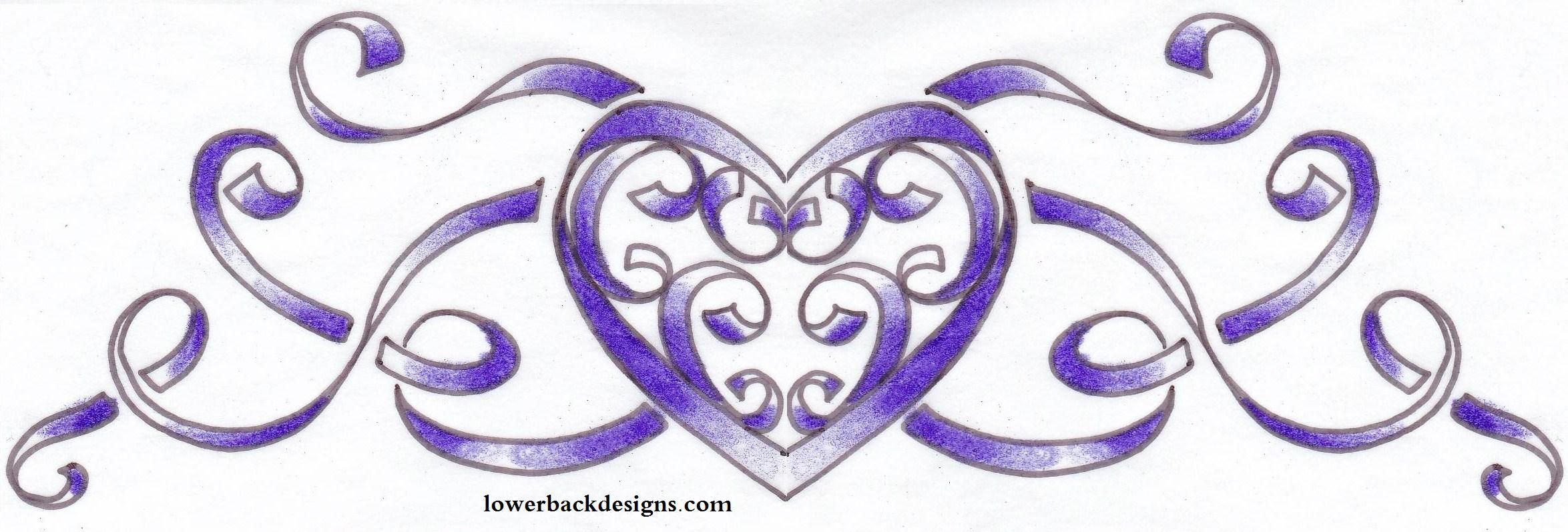 Heart tattoos designs - Image Detail For Ribbon Tattoo Design Tattoo Design Heart Ribbon Tattoo Banner