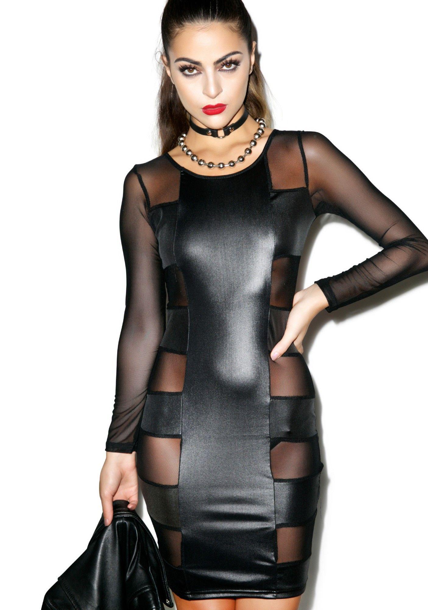 Holly Halston Latex within mistress of matrix dress | latex, streetwear clothing and clubwear