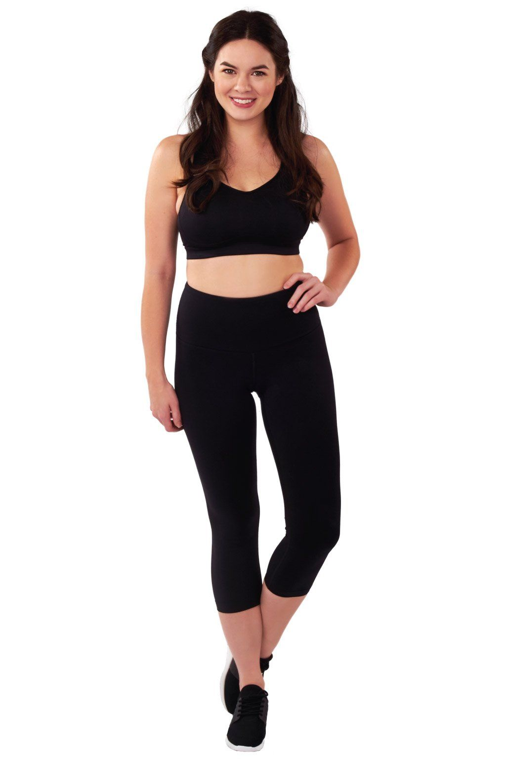 ba35892d7 Supportive premium leggings with a unique compression panel for postpartum  recovery. These are perfect to wear right after your baby arrives and will  make ...