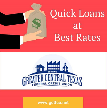 In Search Of Affordable Secured Loans In Killeen Tx Consider Greater Central Texas Federal Credit Union It Provides S Credit Union Federal Credit Union Loan