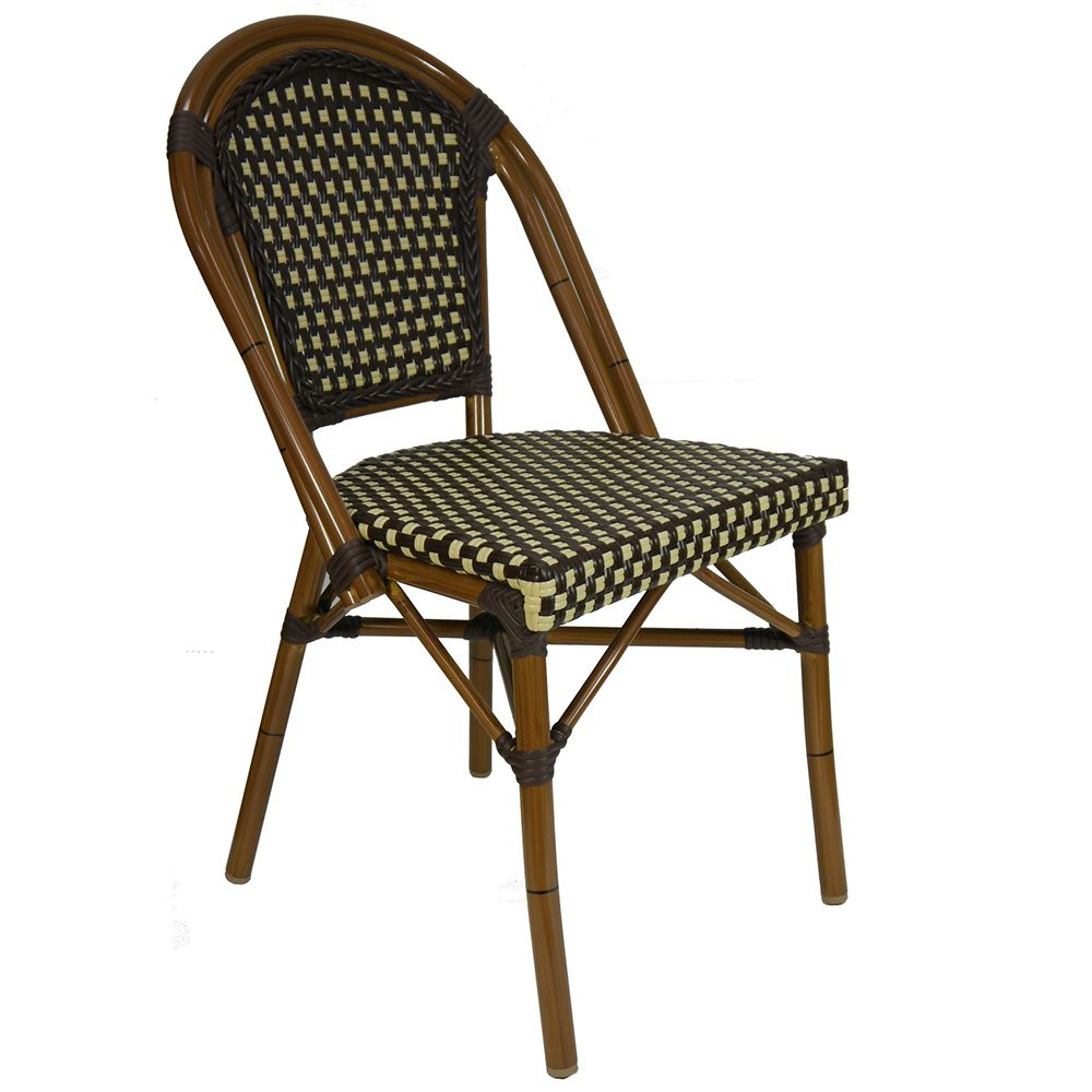 Outdoor cafe chair - Our Paris Outdoor Cafe Chair French Rattan Bamboo Style Borrows It Attractive Look From French Designers
