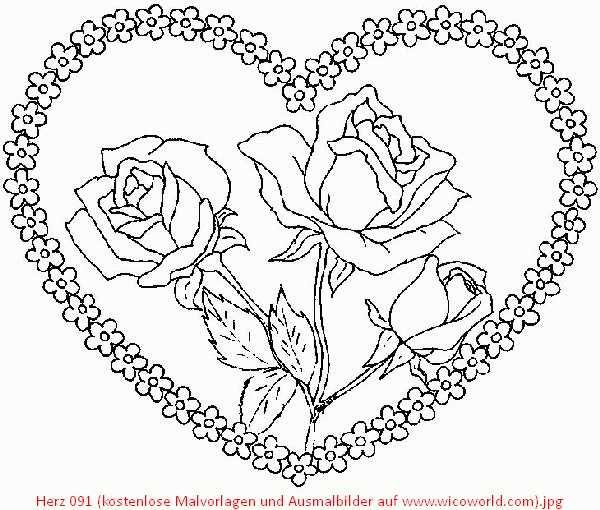 mandalacorazon1 | Love | Pinterest | Colorear, Abstracto y Las mandalas