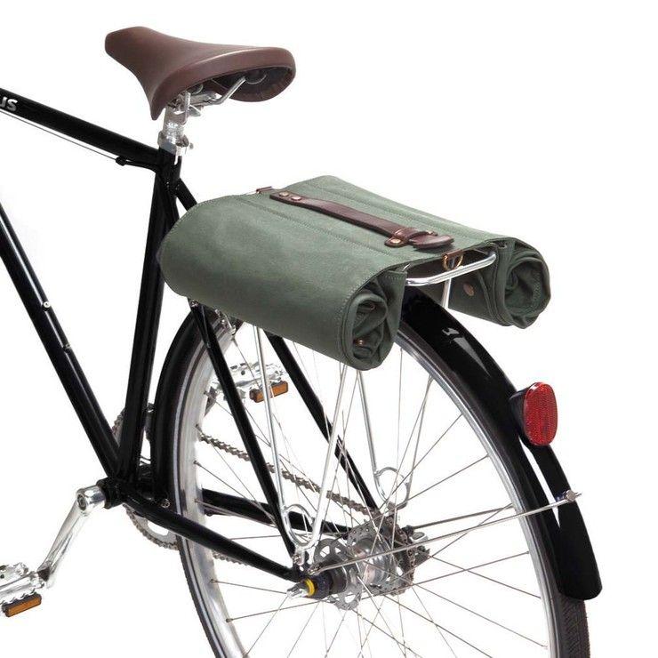 The Market Bag Army Green Bike Bike Bag Market Bag Bike