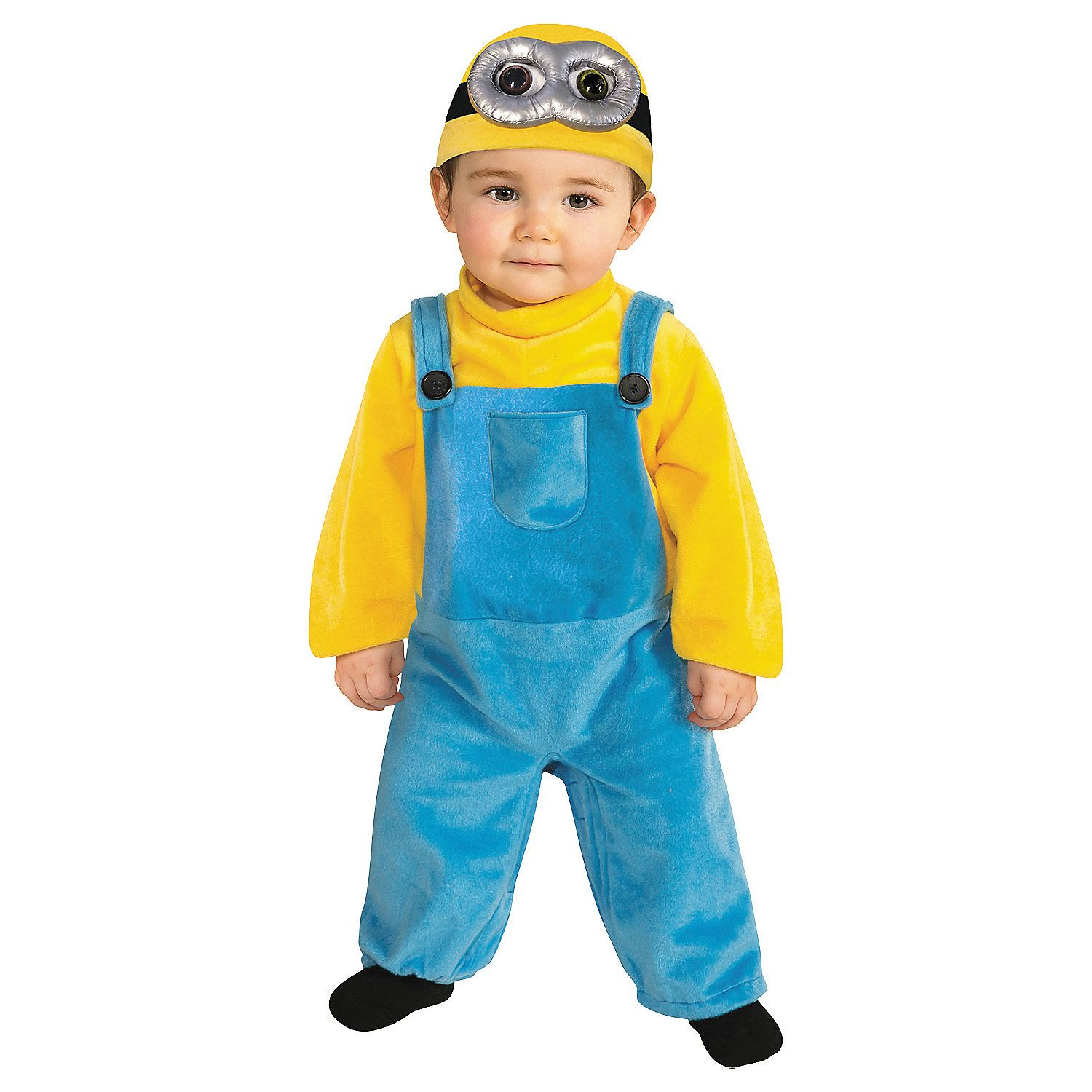 Despicable ME Boys Toddler MINION BOB Halloween Costume Outfit Hat 3T 4T NEW
