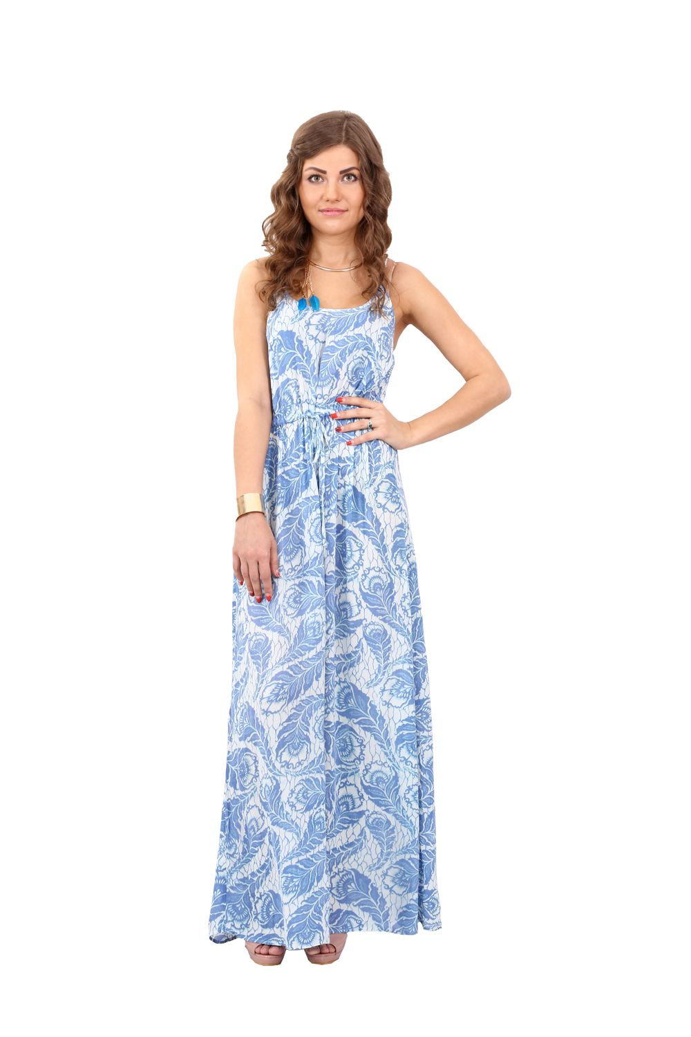 Printed bohemian longdress gowns summercollection