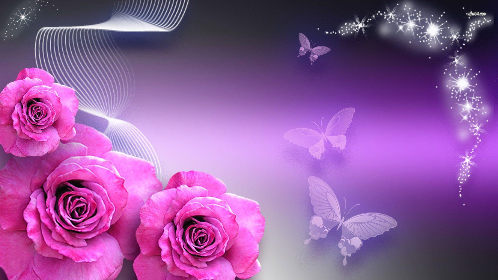 Purple Rose Background Rose Wallpaper Purple Roses Wallpaper Coolest rose flower hd wallpaper