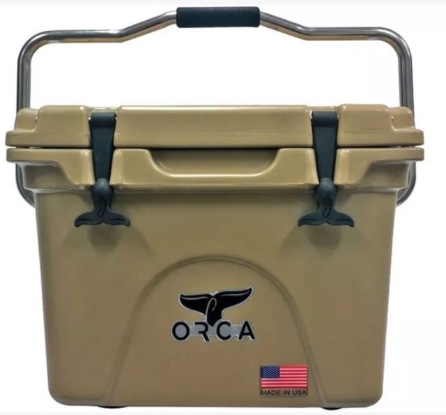Orca Coolers Orct058 Insulated 58 Qt Quart Tan Ice Chest Cooler Retail 419 Ebay Orca Cooler Ice Chest Cooler Orca