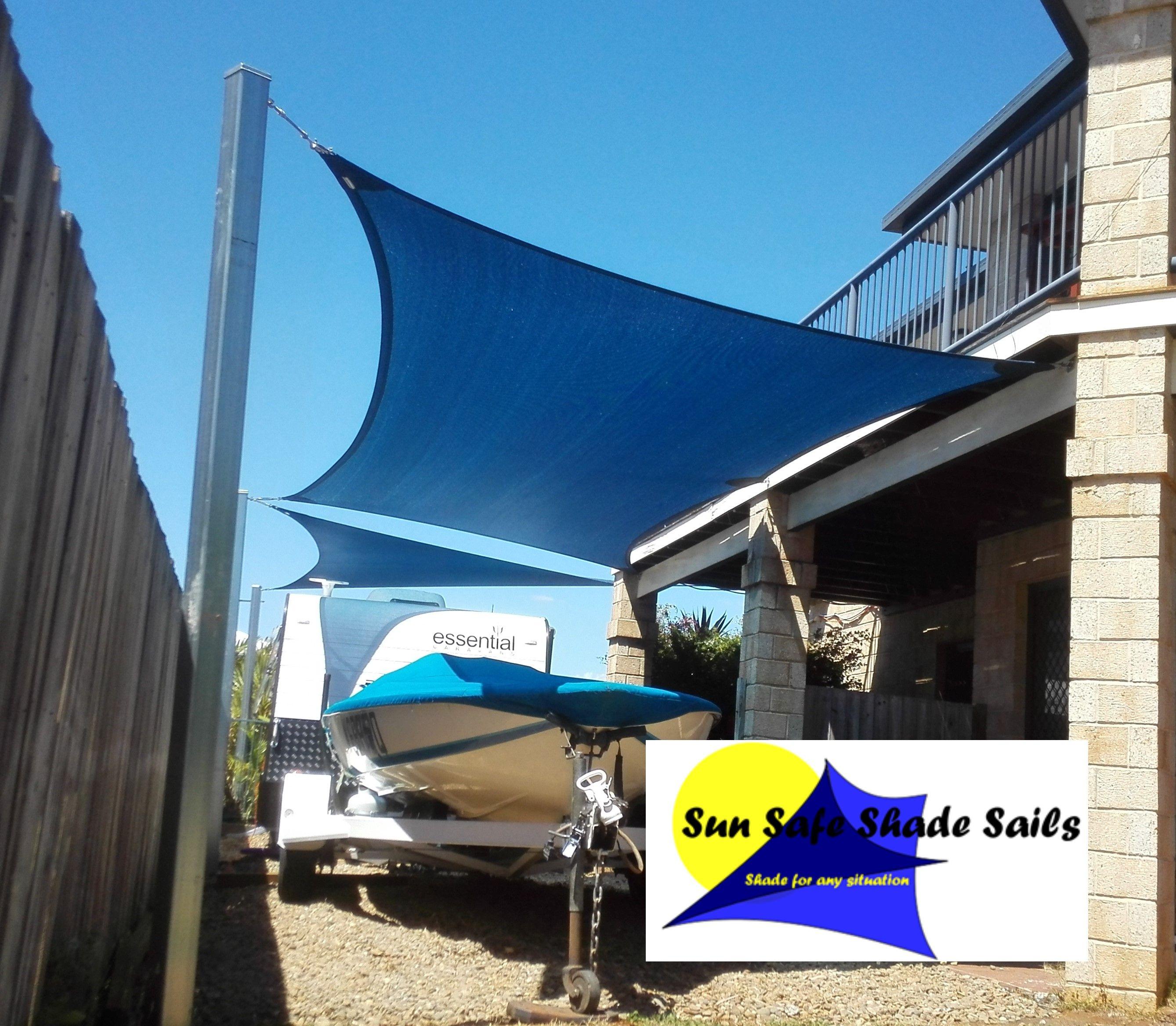 Sun Safe Shade Sails Caravan Shade Sail Protect Your Boat And Caravan With Custom Made Shade Sail Contact Sun Safe Shade Sails Shade Sail Redlands Ipswich