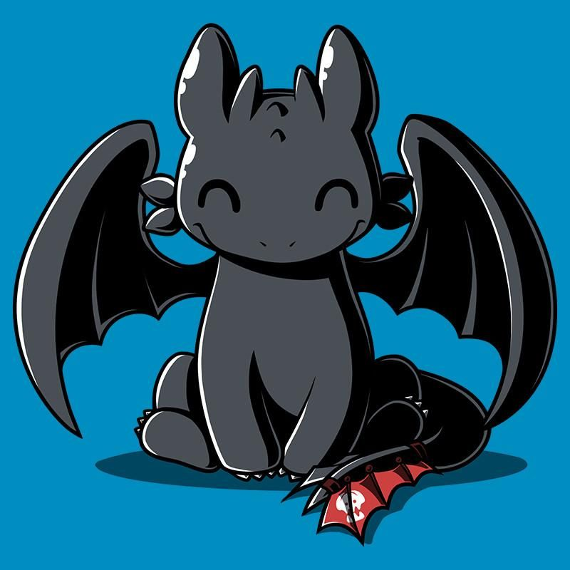 Happy Toothless T Shirt How To Train Your Dragon Teeturtle With