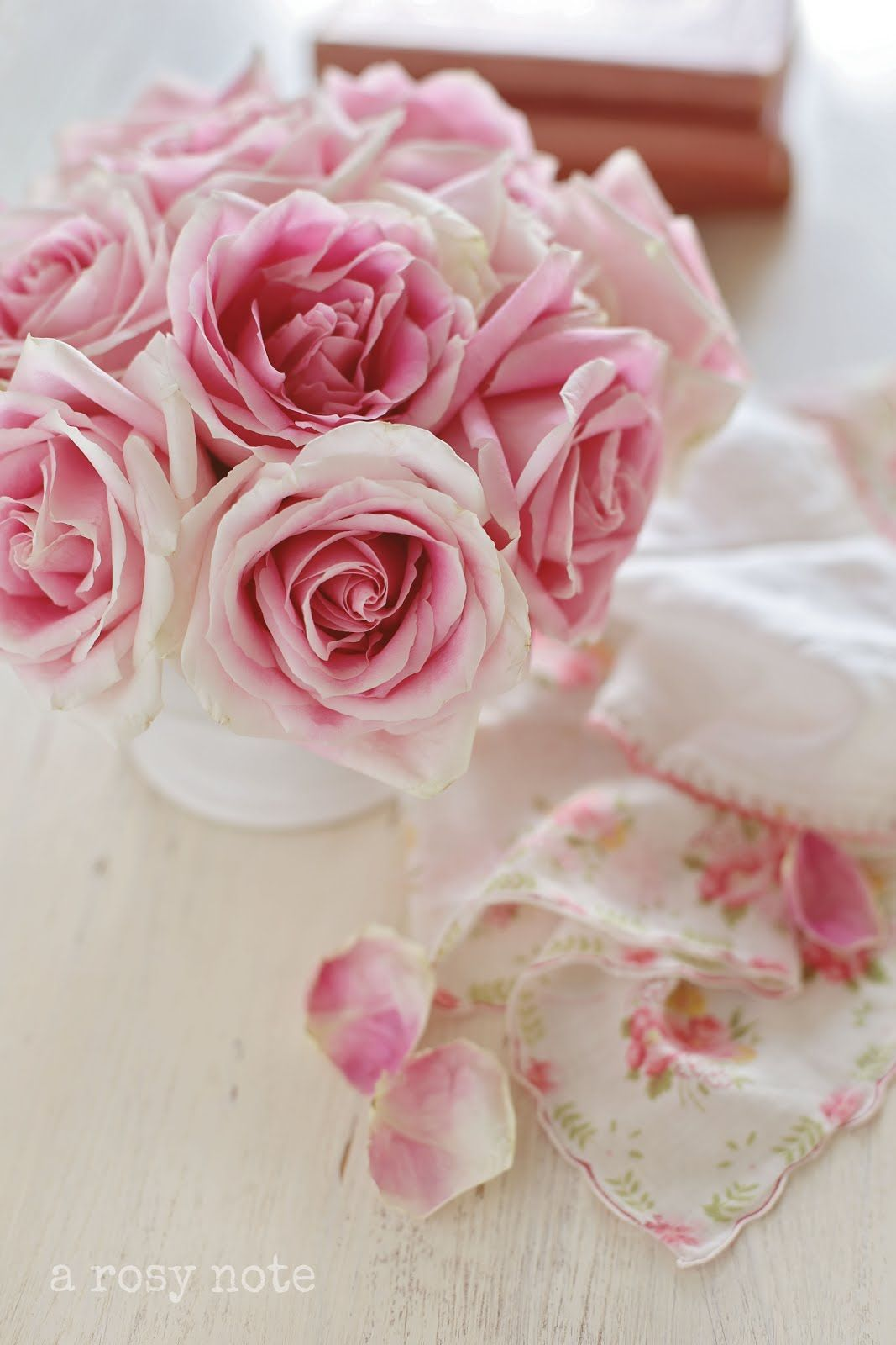 A rosy note i love roses roses roses pinterest flowers rose a rosy note beautiful rosesromantic flowerspink izmirmasajfo