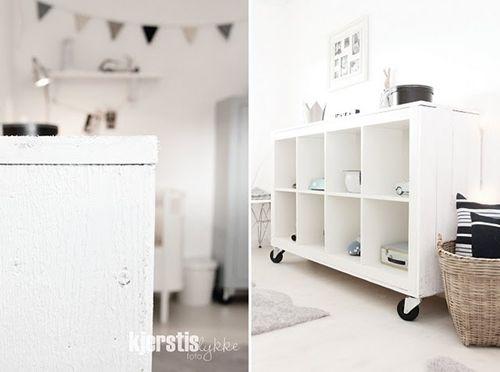 Habitacion bebé estilo nórdico