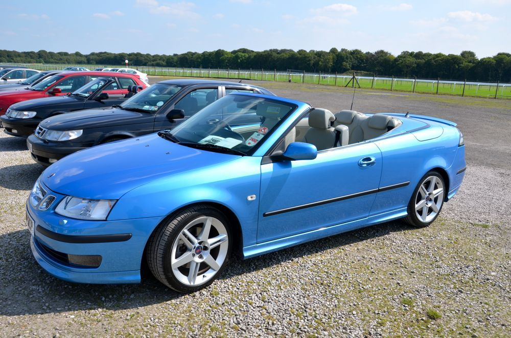 Okay Car Weekend For Ya Followers Since The Jensen Thing Went Viral This Is Saab Convertible Aero 2006 Anniversary Edition Adventure Car Classy Cars Saab