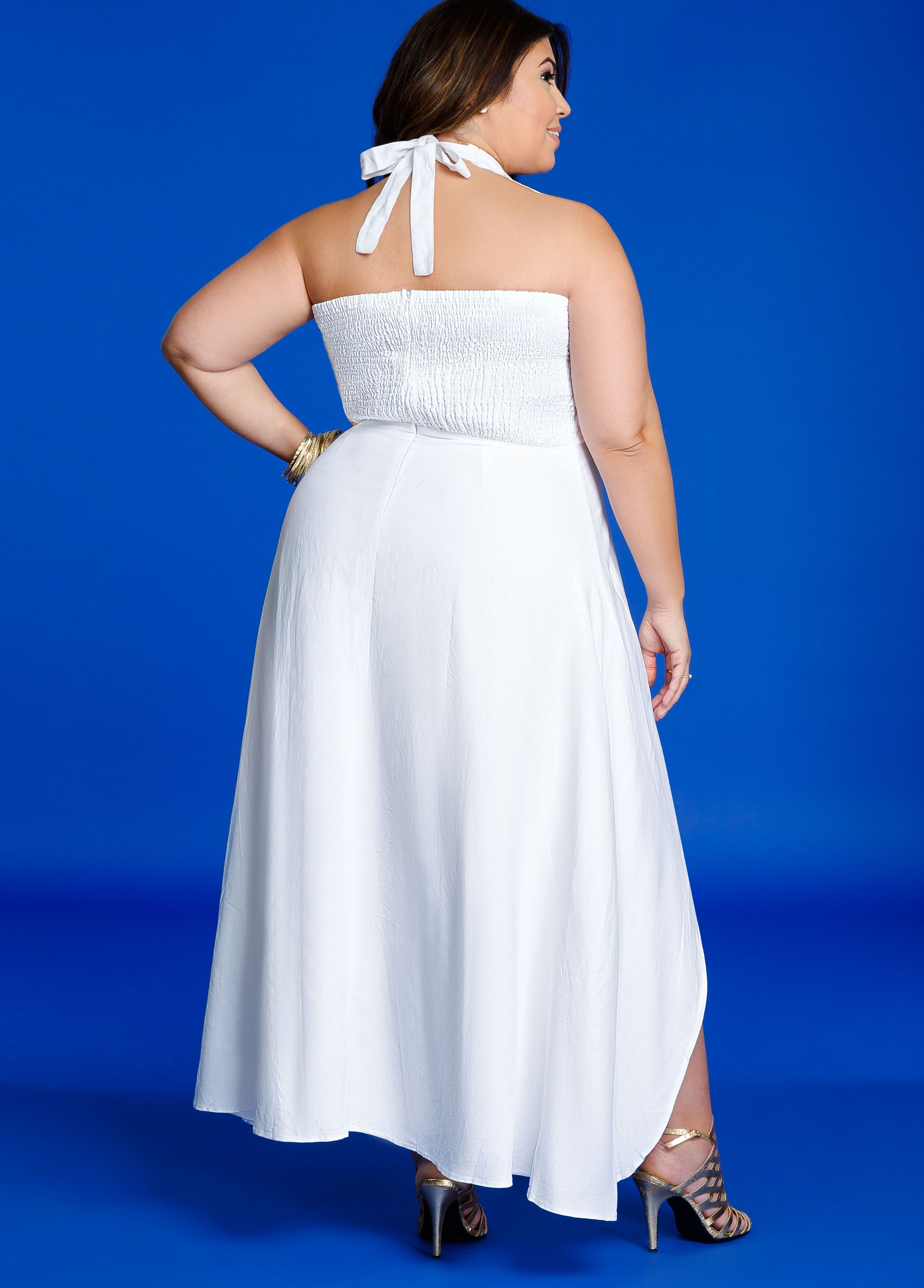 Plus Size Dresses Ruffle Top Hi Lo Halter Maxi Dress Maxi Dress Dresses Halter Maxi Dresses [ 3035 x 2178 Pixel ]