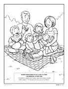 Lesson 26: Families Can Be Together Forever coloring page