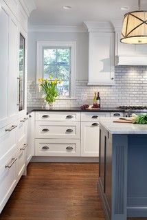 A New Kitchen Makes More of Less Space - traditional - kitchen - dc metro - by Gilday Renovations Design Build