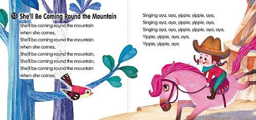 She Ll Be Coming Round The Mountain English Kids Songs