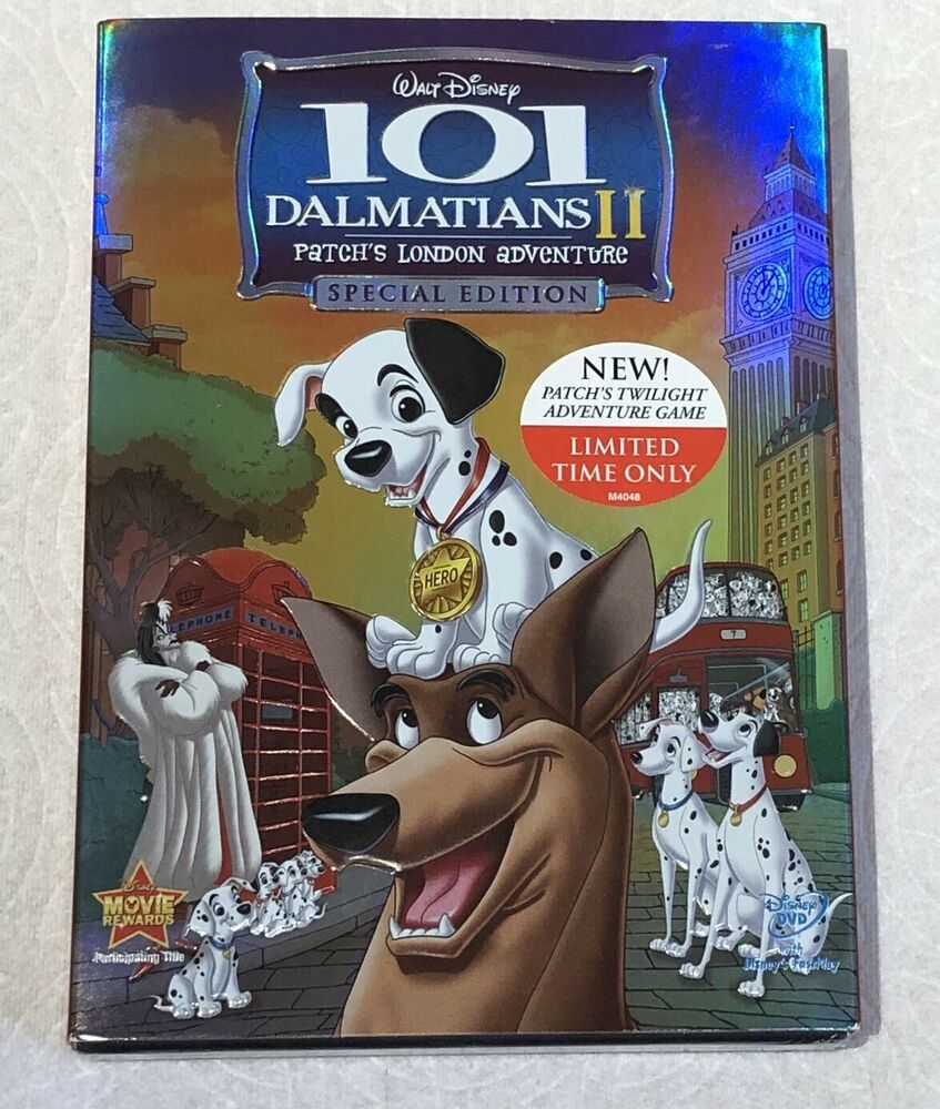 New Sealed 101 Dalmatians Ii Patch S London Adventure Special