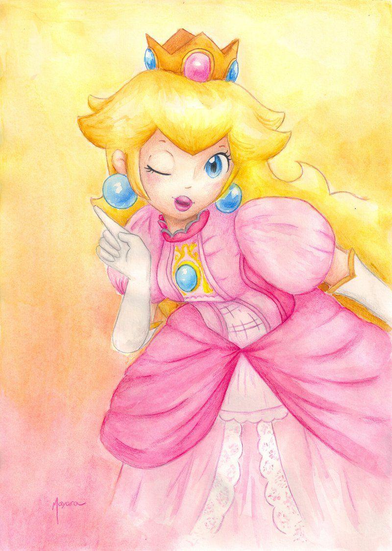 Princess Peach - SSB by Ma-yara.deviantart.com on ...