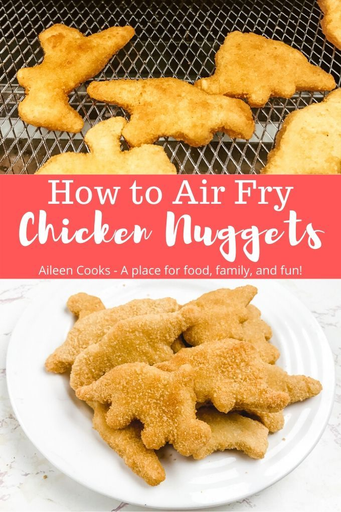 Air Fryer Frozen Chicken Nuggets Recipe in 2020 Air