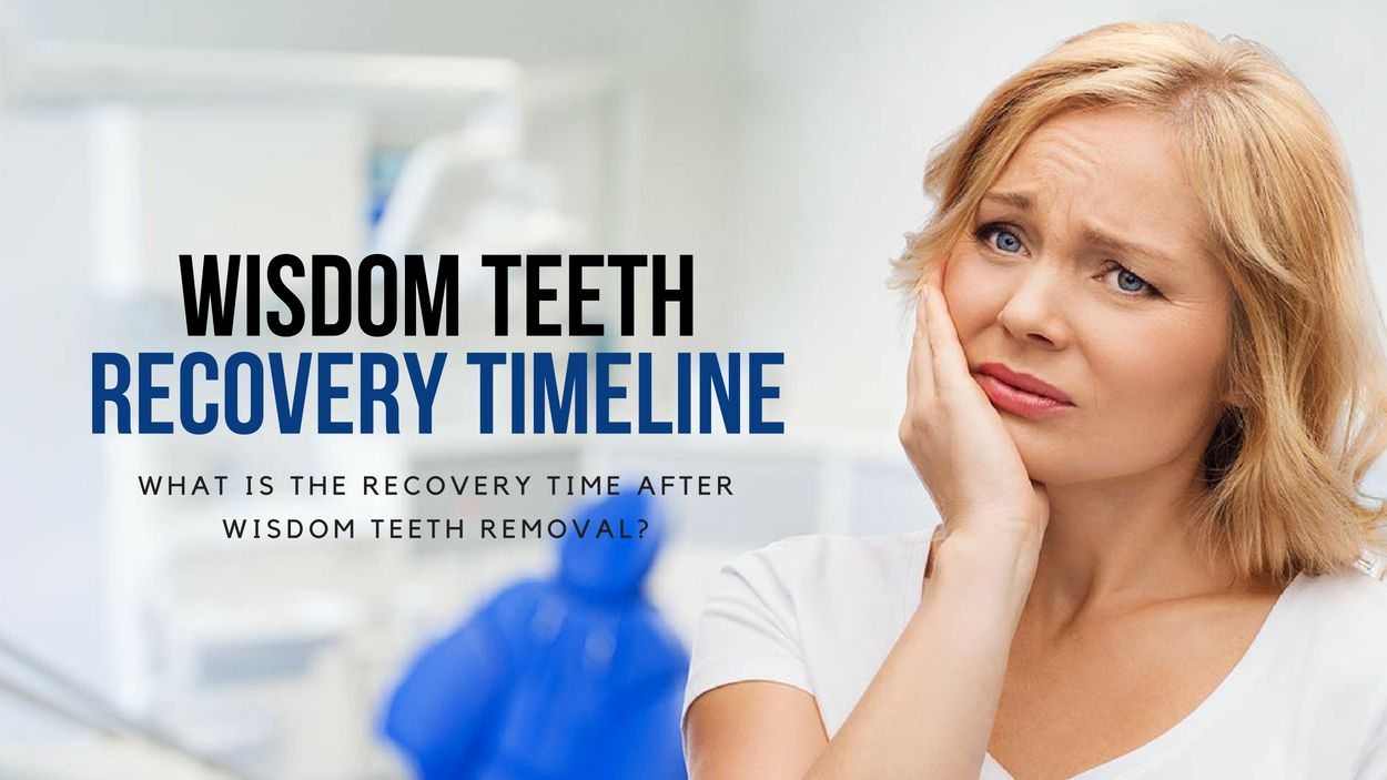 Wisdom Teeth Recovery Timeline u What Is the Recovery Time After