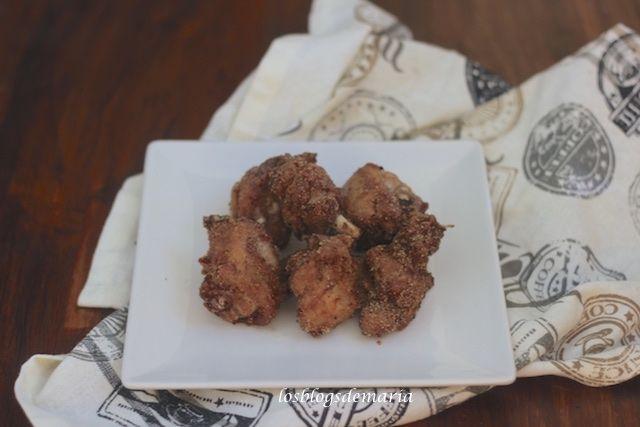 Pollo frito a la soja y parmesano | Comer con poco