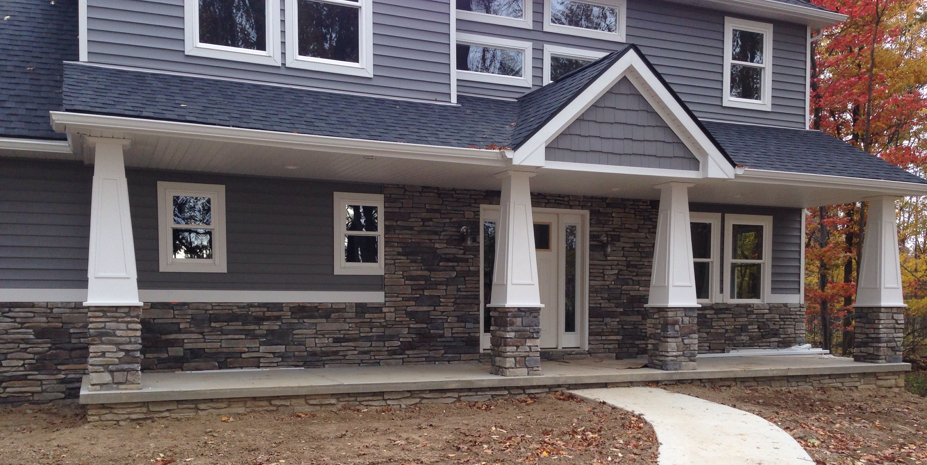 Echo ridge southern ledgestone by boral cultured stone for Exterior ledgestone